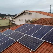 Energia Solar Residencial 4,29 kWp 13 módulos São José SC