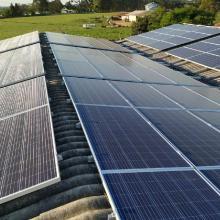 Energia Solar Rural 76,23 kWp 231 módulos Mafra Santa Catarina
