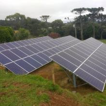 Energia Solar Rural 31,35 kWp 95 módulos Itaiópolis SC