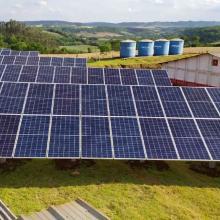 Energia Solar Rural 94,50 kWp 270 módulos Salto do Lontra PR
