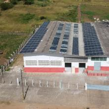 Energia Solar Industrial 85,80 kWp 260 módulos Guarabira Paraiba