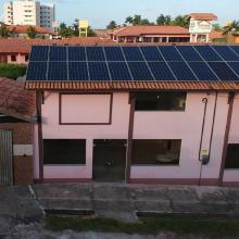 Energia Solar Comercial 26,40 kWp 80 módulos Salinópolis Pará