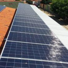 Energia Solar Comercial 64,68 kWp 196 módulos Teresina Piauí