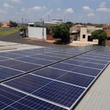 Energia Solar Comercial 28 kWp 80 módulos Catanduva São Paulo