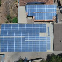 Energia Solar Industrial 85,14 kWp 258 módulos Sete Lagoas MG