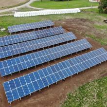 Energia Solar Rural 87,78 kWp 266 módulos Canoinhas SC