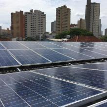 Energia Solar Comercial 26,60 kWp 76 módulos Campo Grande MS