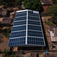 Energia Solar Comercial 68,67 kWp 205 módulos Guarantã do Norte