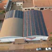 Energia Solar Comercial 66,33 kWp 198 módulos Sinop Mato Grosso