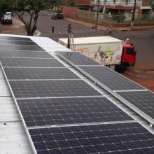 Energia Solar Comercial 93,98 kWp 254 módulos Terra Roxa Paraná