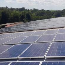 Energia Solar Rural 69,63 kWp 211 módulos Ouro Verde do Oeste PR