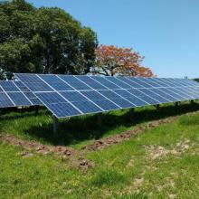 Energia Solar Rural 22,05 kWp 63 módulos Miranda MS