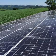 Energia Solar Rural 20,52 kWp 54 módulos Cascavel Paraná