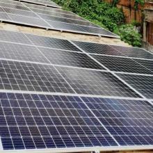 Energia Solar Comercial 9,12 kWp 24 módulos Lagoa Dourada MG