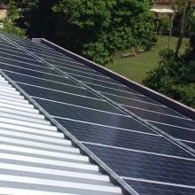Energia Solar Comercial 24,79 kWp 74 módulos Cametá Pará