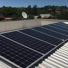 Energia Solar Residencial 2,96 kWp 8 módulos Getúlio Vargas RS