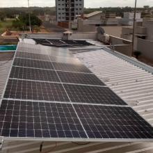 Energia Solar Residencial 5,32 kWp 14 módulos SP