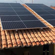 Energia Solar Residencial 4,44 kWp 12 módulos Santa Inês MA
