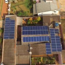 Energia Solar Comercial 9,24 kWp 28 módulos Brasnorte MT