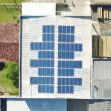 Energia Solar Comercial 24,42 kWp 74 módulos Caxias do Sul RS
