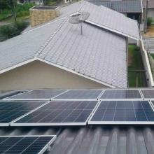 Energia Solar Residencial 7 kWp 20 módulos Timbó Santa Catarina