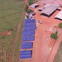 Energia Solar Rural 81,18 kWp 246 módulos Brasnorte Mato Grosso