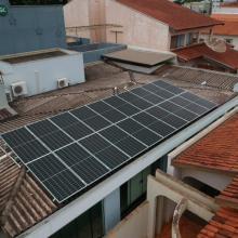 Energia Solar Residencial 7,60 kWp 20 módulos Cândido Mota SP