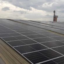 Energia Solar Comercial 56,10 kWp 170 módulos Itajaí SC