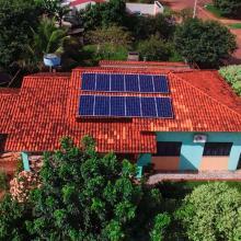 Energia Solar Residencial 3,96 kWp 12 módulos Brasnorte MT