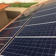 Energia Solar Residencial 4,62 kWp 14 módulos Cândido Mota SP