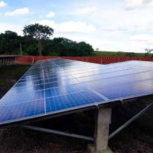 Energia Solar Rural 81,18 kWp 246 módulos Terenos MS