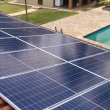 Energia Solar Residencial 6,30 kWp 18 módulos Taubaté SP