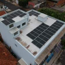 Energia Solar Residencial 9,80 kWp 28 módulos Bastos São Paulo