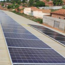 Energia Solar Comercial 31,68 kWp 96 módulos Buriticupu MA