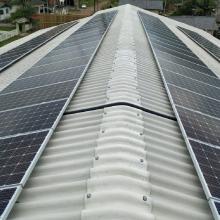 Energia Solar Industrial 34,20 kWp 90 módulos Praia Grande SC