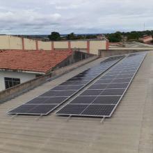 Energia Solar Comercial 26,60 kWp 70 módulos Porto Nacional TO