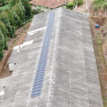 Energia Solar Rural 16,10 kWp 46 módulos Santa Maria do Herval