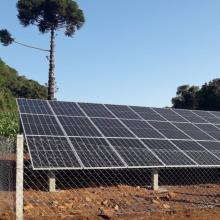 Energia Solar Rural 12,37 kWp 33 módulos Concórdia SC