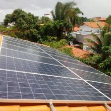 Energia Solar Residencial 10,64 kWp 16 módulos Paço do Lumiar