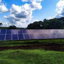 Energia Solar Rural 22,11 kWp 66 módulos Cascavel Paraná
