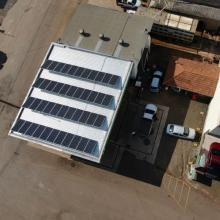 Energia Solar Comercial 16,50 kWp 44 módulos Chapecó SC