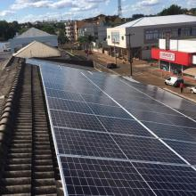 Energia Solar Comercial 17,01 kWp 42 módulos Tapera RS