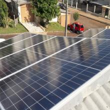 Energia Solar Residencial 3,28 kWp 8 módulos Abdon Batista SC