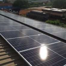 Energia Solar Comercial 16,40 kWp 40 módulos Sidrolândia MS