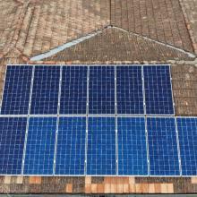 Energia Solar Residencial 4,62 kWp 14 módulos Lapa Paraná