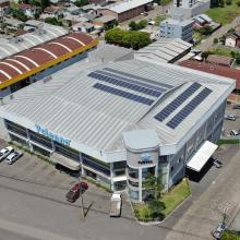 Energia Solar Comercial 36,29 kWp 110 módulos Caxias do Sul RS
