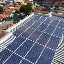 Energia Solar Comercial 27,65 kWp 79 módulos Taubaté São Paulo