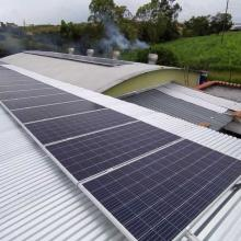 Energia Solar Industrial 15,07 kWp 45 módulos São Tiago MG