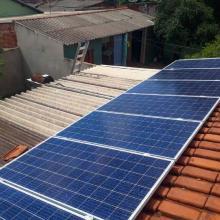 Energia Solar Residencial 3,96 kWp 12 módulos Sidrolândia MS