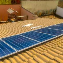 Energia Solar Residencial 2,68 kWp 8 módulos Palmas Tocantins
